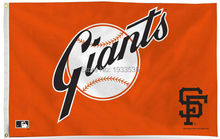 San Francisco Giants Large Logo Fan Flag 3'x5' Banner brass metal holes Flag(China)