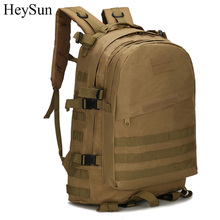 40L 3D Tactical Military Backpack,Outdoor Sports Travel Rucksack Molle Bag for Mountain Camping Trekking Hiking 3colors