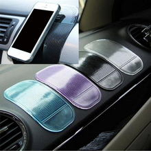 5PCS Automobile Interior Accessories Anti Slip Car Sticky Anti-Slip Mat for Mobile Phone/Mp3/Mp4/GPS/Pad/Car doll(China)