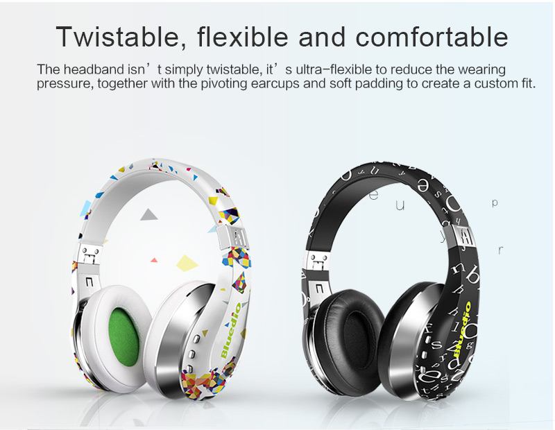 Fashion Sport Air foldable bluetooth headphones BT4.1 Stereo bluetooth Support 3 D soundfor phones music earphone earpiece