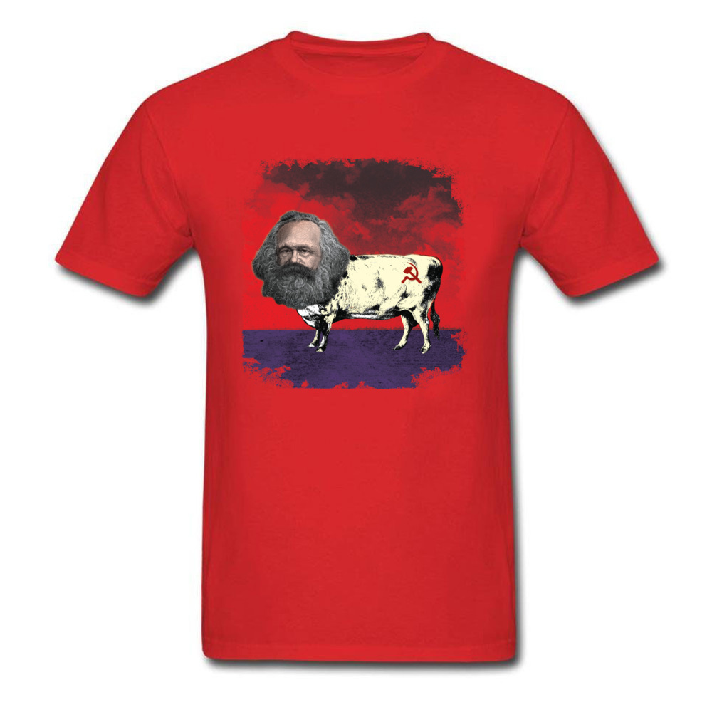 COW MARX - FATHER OF COWMUNISM_red
