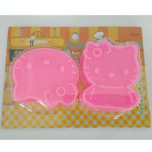 Stereoscopic Cartoon Cookie Mould Hello Kitty Cookie Cutter Plastic Baking Tools Bakeware