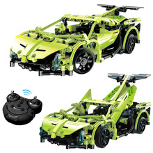 Technic Series Simulation Car Remote Control building blocks DIY toy compatible with LegoINGlys Educational Toy for Kids 453 Pcs(China)