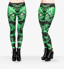 New 3D Printing Green Cthulhu Sexy legging Soft Women Leggings Causal jeggings Tayt Fitness Leggins Mujer Calzas Legins Girls(China)