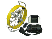 700TVL Sony CCD 50mm self leveling camera pipe inspection camera industrial video borescope 120m V8-3288