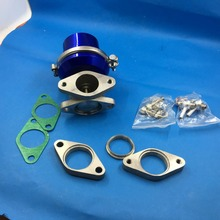 High Performance blue Color Adjustable Universal 38mm External Wastegate(China)