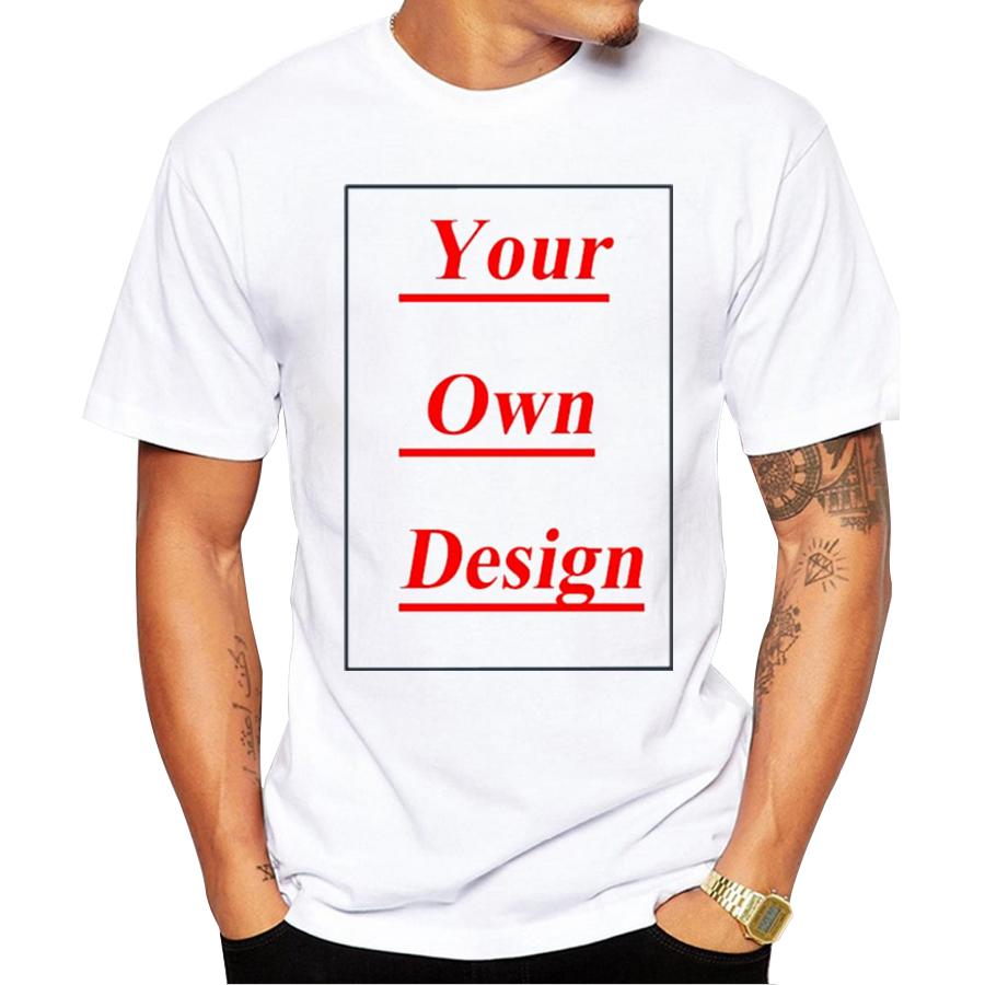 High-Quality-Customized-Men-T-shirt-Print-Your-Own-Design-Men-Casual-Tops-Tee-Shirts