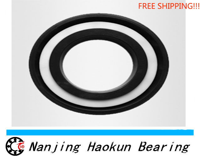 Free shipping 6000-2RS full SI3N4 ceramic deep groove ball bearing 10x26x8mm 6000 2RS<br><br>Aliexpress