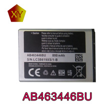 New AB463446BU Li-ion Mobile Phone Battery For Samsung E1107 Crest Solar/Solar Guru/E1080 T/Guru1080/E1080 W/E1120/E2100 B/E210/
