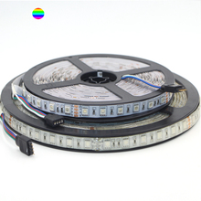 Super Bright 10M/roll DC 24V 5050 SMD RGB Led Strip Light 60Leds/M Flexible lights non/Ip65 Waterproof  String Ribbon Tape Lamp