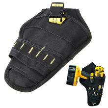 1pc Heavy Duty Cordless Holder Impact Drill Tool Belt Pouch Pocket 165x265mm For Electricians Carpenters