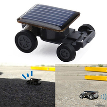 Solar Power Mini Toy Car Cool Racer Popular Funny Electric Toys Gadget Gift(China)