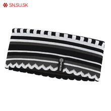 Winter Outdoor Warm Ski Hairbands Hair Accessories For Adults Unisex Elastic Sports Headbands For Men Women Head Band Headwear(China)