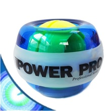 High Quality Powerball Forceball with Gyro Power Ball Wrist Exerciser Power Ball Hand Spinner LED Speed Meter