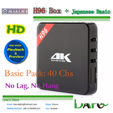 4K Android TV Box Best Quality Japanese Live TV iSakura Apk IPTV HD Image 7 days Review Basic-Pack Watch 40 Channels Free Trial