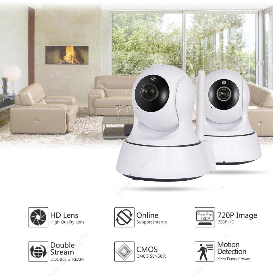 Mini HD Wireless IP Camera Wifi 720P Smart IR-Cut Night Vision Surveillance Onvif Network CCTV Security Camera FMA<br><br>Aliexpress