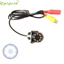 Auto 170-degree viewing angle + 8LED small straw waterproof reversing camera Dec07(China)