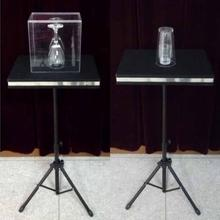 Remote control Glass Breaking and coin into glass table - Magic Tricks,Mentalism,Accessories,Illusion,gimmick(China)