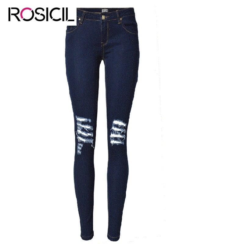 Fashion Low Waist Womens Jeans Broken Hole Distressed Denim Stretch Pencil Pants Street Wear Slim Fit Butt lift Jeans For WomenÎäåæäà è àêñåññóàðû<br><br>