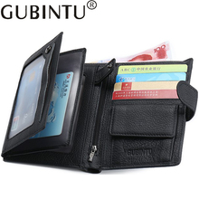 Buy Porte Carte Auto Document Car Genuine Leather Passport Cover Business Credit Card Holder Purse Travel Men Wallet Drivers License for $11.98 in AliExpress store