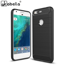 AKABEILA Phone Cover Case For HTC Nexus Sailfish Cellphone Carbon Fiber TPU Case Pixel Google Pixel Nexus S1 5.0 inch Bag(China)