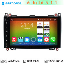 "9"" 1024X600 Android 5.1.1 Quad Core Car DVD Player For Mercedes Benz A B Class W245 W169 Viano Vito Sprinter B160 B200 GPS Radio(China)"