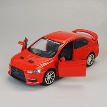 1:32 Scale Diecast Metal Alloy Car Model For MITSUBISHI Lancer Evolution EVO X Collection Model Toys Car With Sound&Light