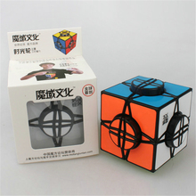 YJ MoYu Wheel Of Time Black Puzzle Cube Strange-shape Puzzles Cubes Action Figures Learning & Education Toys Baby Toys Plaything