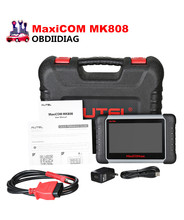 Newest 7 inch Autel MaxiCOM MK808 Automotive Diagnostic Scanner with IMMO/EPB/SAS/BMS/TPMS/DPF Service Replace of EU908(China)