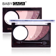 BABY GAGA 6 Colors Eyeshadow Waterproof Long-Lasting Satin Eye Shadow Makeup Pallete Beauty Brand Make Up Maquillage Cosmetic