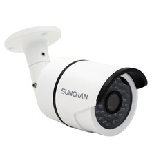 SunChan High Quality AHD Camera Color CMOS 1500TVL 1.3MP 36 IR LED Night Vision Waterproof Camera Outdoor CCTV Camera w/Bracket