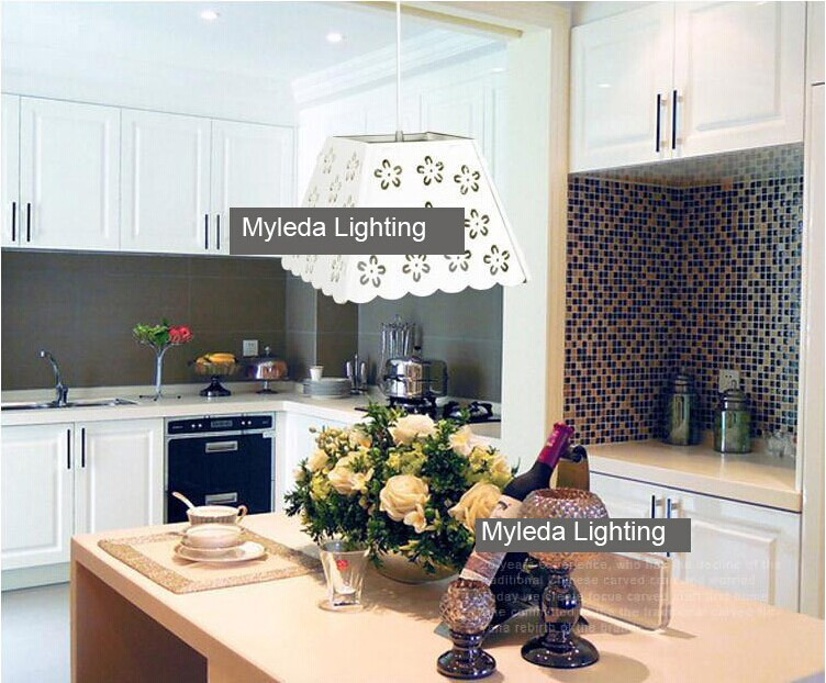 Artical and modern simple romantic sentiment flower dinning room pendant light with 3W LED light<br><br>Aliexpress