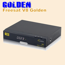 3PCS [DHL FREE] freesat v8 golden box v8 golden dvb t2/s2/c upgraded V8 Pro Combo  Satellite Receiver S2 T2