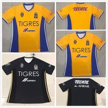 Tigres UANL 5 Stars soccer jerseys 2017/18 Mexico club Tigres home Away 5 Stars football shirt jersey