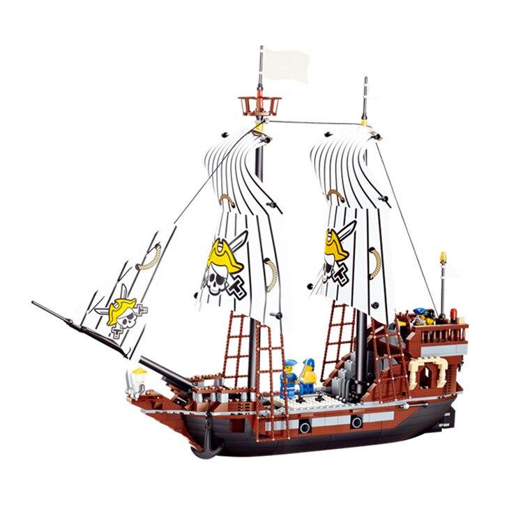 678pcs Pirates series building blocks Black Pearl No. Pirate Ship Bricks Blocks Kids Educational Bricks Toys Leping Compatible<br><br>Aliexpress
