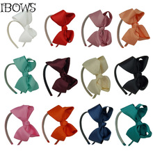 Girls Headwear Princess Hair Accessories Big Bows Plastic Hairband Kids Headband Summer Style 2Pcs/lot