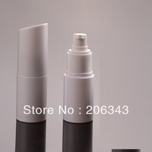 30ml white pump bottle or pressure lotion bottle or toilet water botter PET BOTTLE(China)