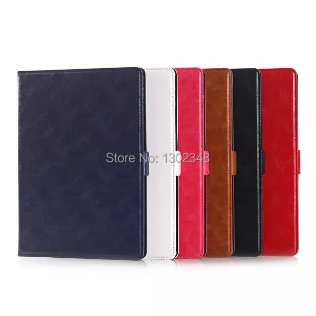 Luxury Oil Wax Skin Retro Vintage PU Leather Wallet Card Holder Stand Tablet Protective Case Folio Cover For Apple iPad 6 Air 2<br><br>Aliexpress