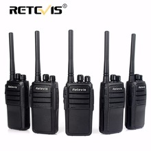 5 pieces Durable Walkie Talkie Retevis RT21 2.5W 16CH UHF VOX Scrambler CTCSS/DCS Handheld Hf Radio Best Communication Equipment