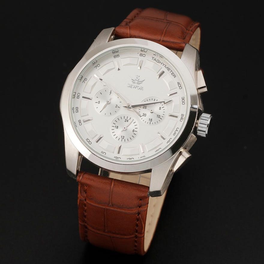 2016 Hot Sale Sewor Fashion Date Calendar Multi Function Leather Strap Men Gift Mechanical Automatic Self-Wind Wrist Watch 8275<br><br>Aliexpress