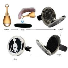 Car-styling AUTO 30mm Car Perfume Supplemental Pad Essential Oil Diffuser Cotton Decorate Jewelry Mat august3