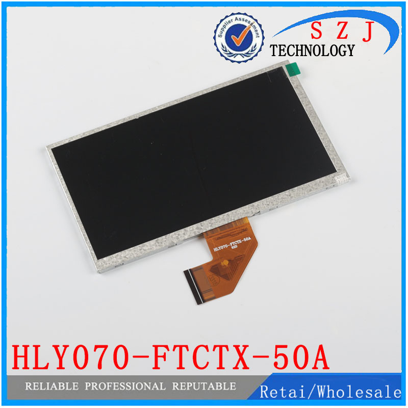 Original 7 inch LCD Display Panel HLY070-FTCTX-50A RXD for Tablet pc LCD screen Replacement Free shipping<br><br>Aliexpress