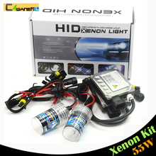 Cawanerl 55W H7 Xenon Bulb Ballast HID KIT DC Car Headlight Fog Light DRL 3000K 4300K 5000K 6000K 8000K 10000K 12000K 15000K