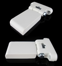 2PCS/Lot Heavy Flag Type Hinge for UPVC Window Door White Plastic Steel Profile(China)