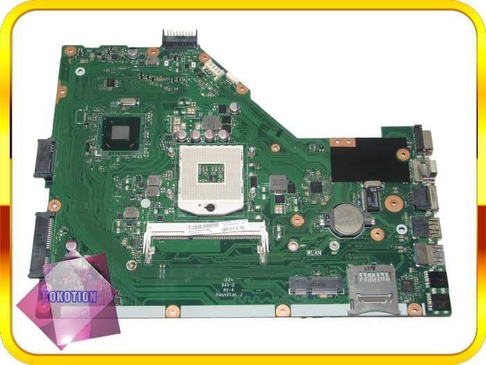 laptop motherboard for ASUS X55A 60-NBHMB1100 X55A REV 2.1  hm70 gma hd 3000 ddr3<br><br>Aliexpress