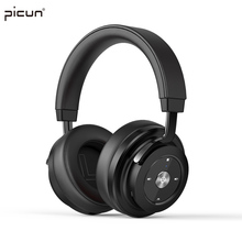 Buy Picun Wireless Bluetooth 4.1 Headphone Stereo HiFi Music Headset Super Bass Game Earphone Microphone iPhone iPod MP3 TF for $39.64 in AliExpress store