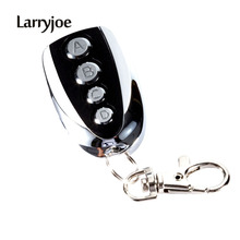 Larryjoe Hot Sell Remote Control Cloning Gate for Garage Door Car Alarm Products Keychain 433 Mhz(China)