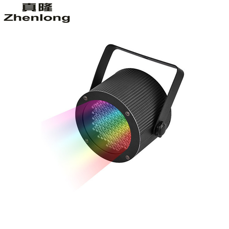 6 Channel 25W 86LED Sound Active RGB Stage Par Lights with DMX512 Code Switch Control Stage Light for Club KTV Party Light Play<br>