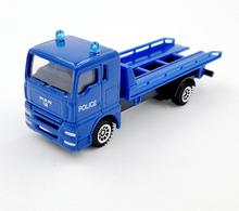 1:43 scale alloy truck model,high simulation Road wrecker toy,children's educational toy car,diecast metal dodel,free shipping(China)