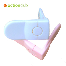 Actionclub 10Pcs Baby Safety Lock Protection For Babies Child Refrigerator Angle Drawer Latches Cabinet Kid Security Window Lock